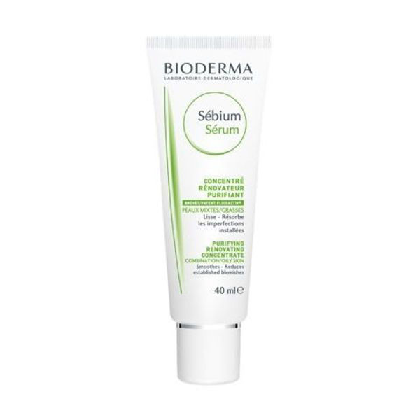 Picture of Bioderma Sebium Serum Night Purifying Glycolic Skin Peel - 40 ml