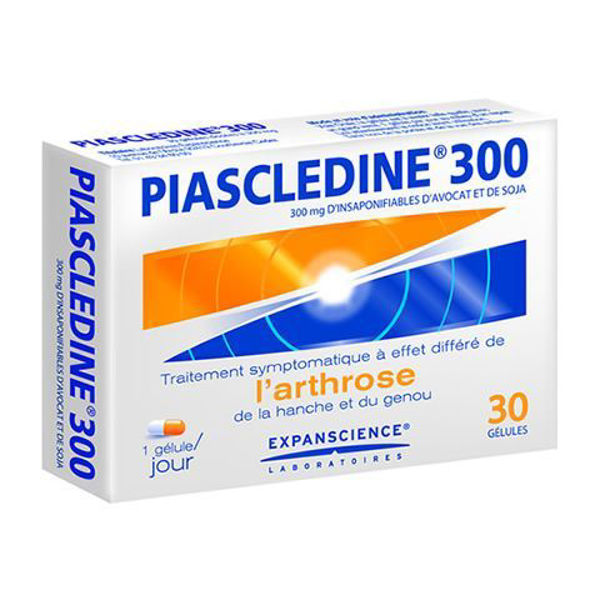 Picture of Piascledine Anti-Rheumatic Osteoarthritis 30 Capsules - 300mg