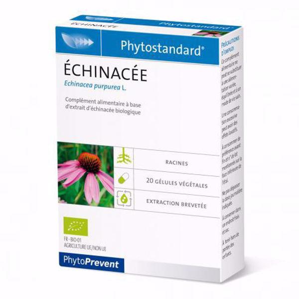 Phytoprevent Organic Echinacea 272mg - 20 Capsules