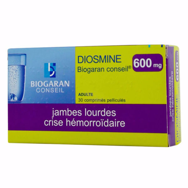 Diosmine Biogaran Conseil - 600mg