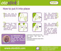 Otostick Ear Correction How To Use