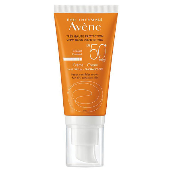 Picture of Avène Eau Thermal SPF50+ Cream for Dry Sensitive Skin