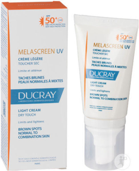 Picture of Ducray MelascreenUV SPF 50+ Anti Brown Spots - Normal or Light - 40ml